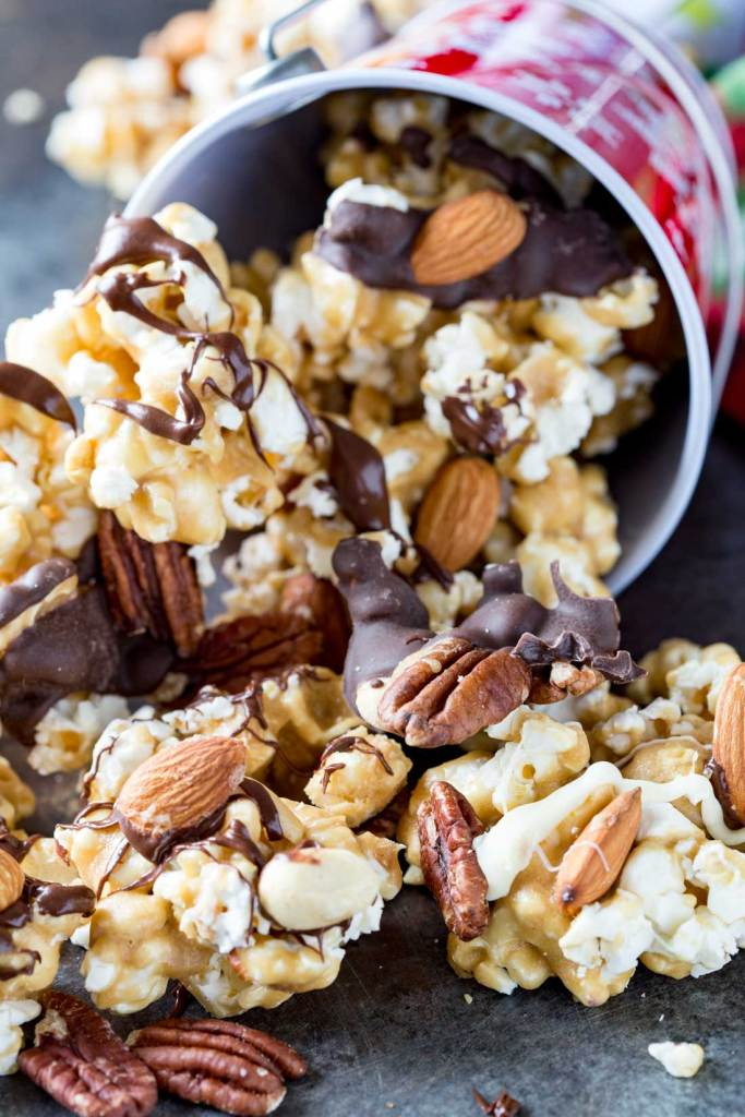 Caramel Moose Munch Fancy Popcorn Recipe | Eazy Peazy Mealz