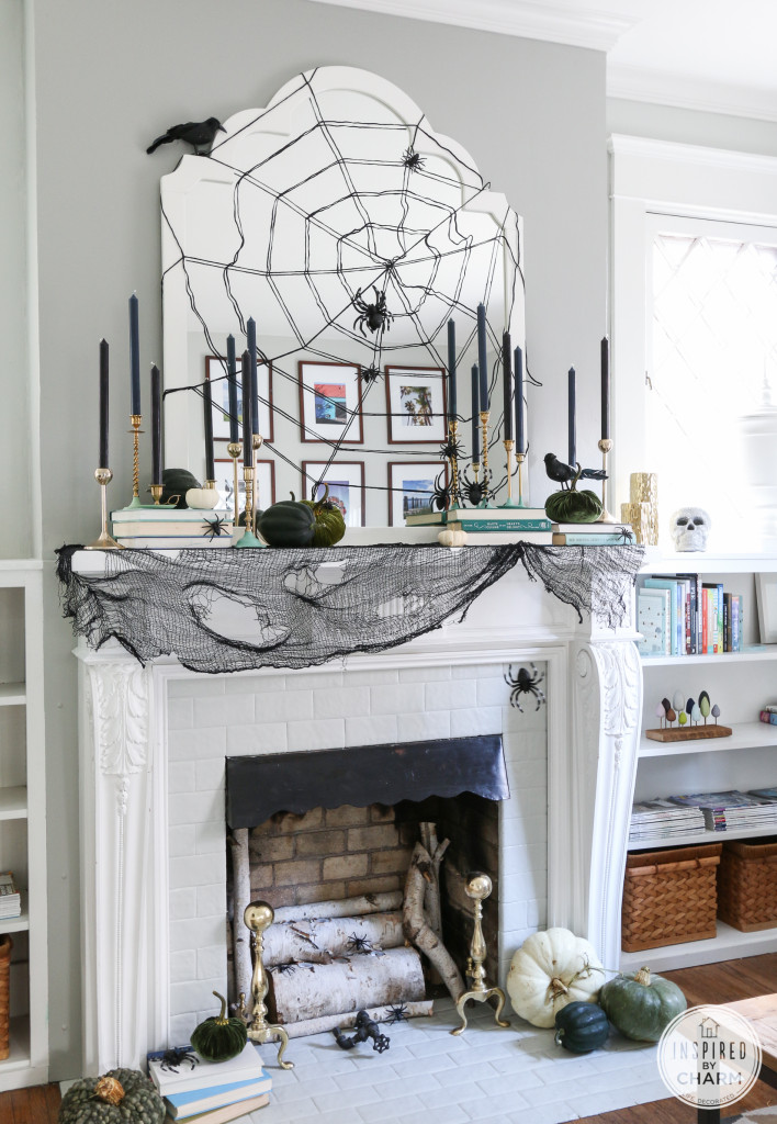 Halloween Decoration Ideas for Your Mantel! - landeelu.com