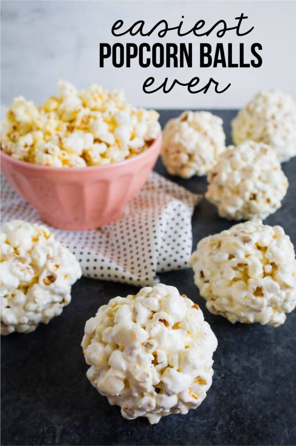 Easiest Popcorn Balls EVER | Thirty Handmade Days