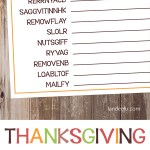 Download and print this fun Thanksgiving worksheet to keep the kids entertained on Thanksgiving!