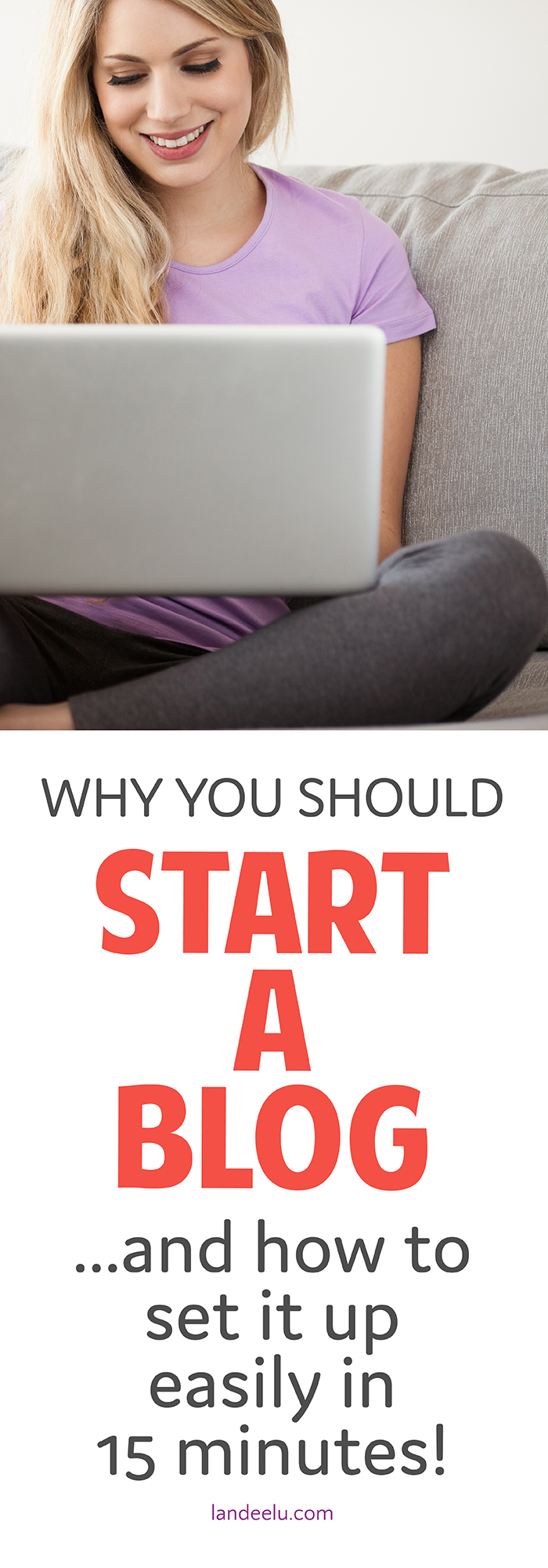 Learn the quick & easy way to start a blog! Takes about 15 minutes!