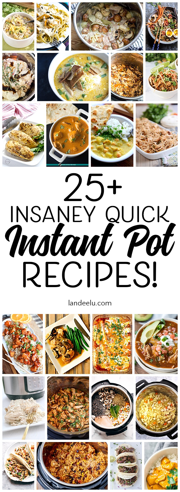 If you're all about getting dinner on the table quickly you must check out these insanely quick instant pot recipes!