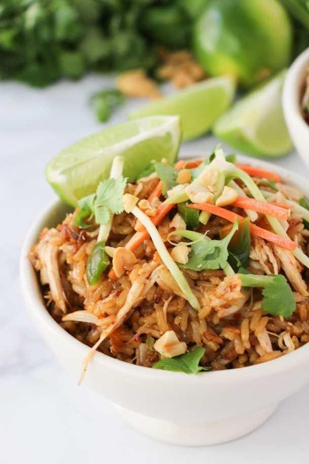 Instant Pot Thai Chicken Rice Bowls | Wondermom Wannabe