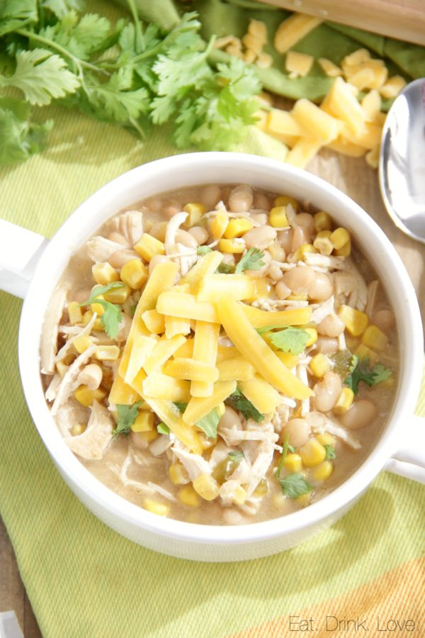 Instant Pot White Chicken Chili | Eat. Drink. Love.