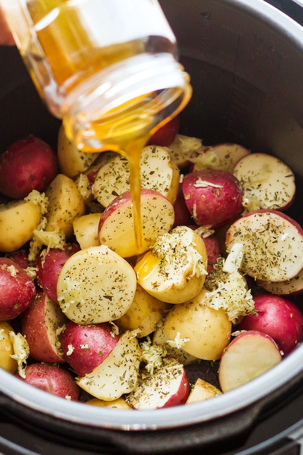 Instant Pot Brown Butter Potatoes | Eat Well 101