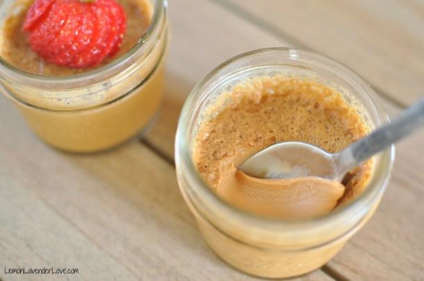 Instant Pot Caramel Pot De Creme | Lemon Lavender Love