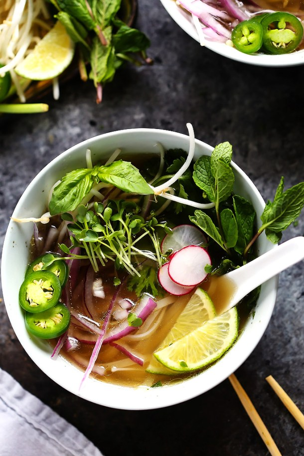 Instant Pot Chicken Pho | Plantings and Pairings
