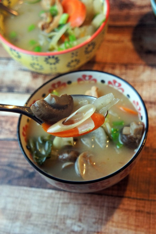 Instant Pot Healing Lemongrass Soup | Foraged Dish