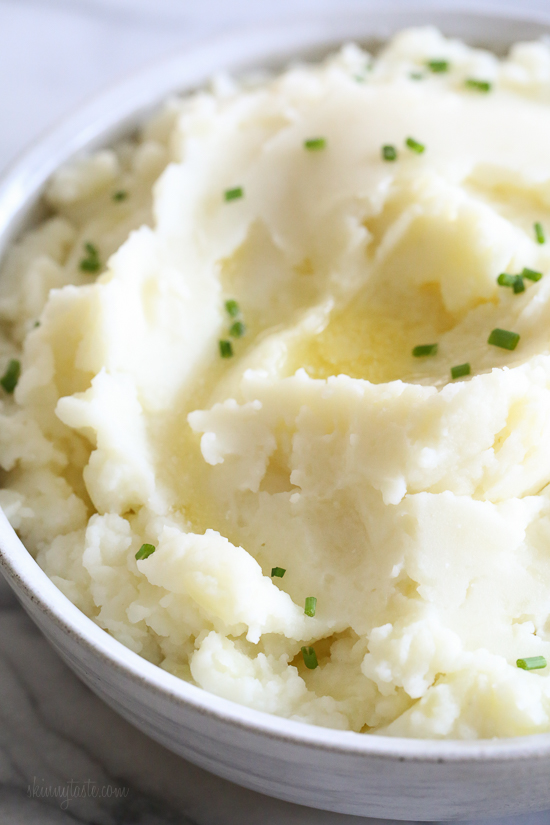 Instant Pot Mashed Potatoes | Skinny Taste