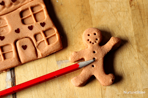 Gingerbread Playdough | Nurture Store