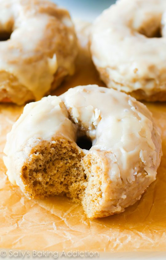 Maple Glazed Doughnuts | Sally's Baking Addiction