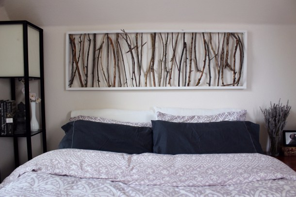 Branch Art Headboard | Emorie Kidder Designs