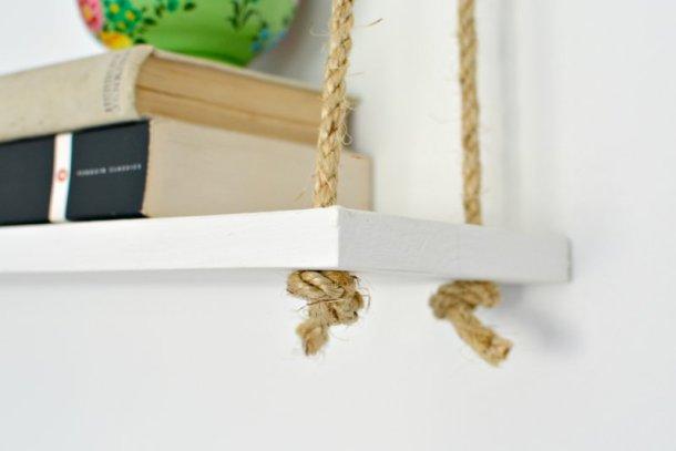 DIY Easy Rope Shelf | Burkatron