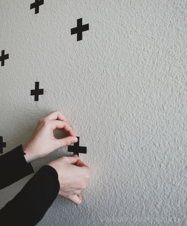 DIY Washi Tape Wall Decals   Everything Emily