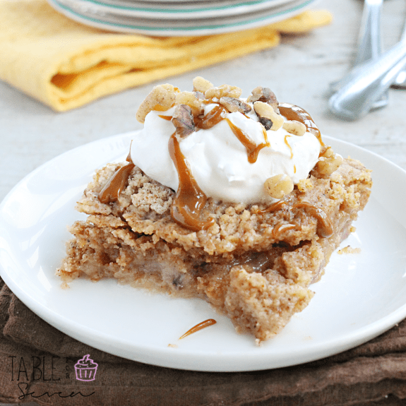 Banana Bread Dump Cake | Our Table for Seven
