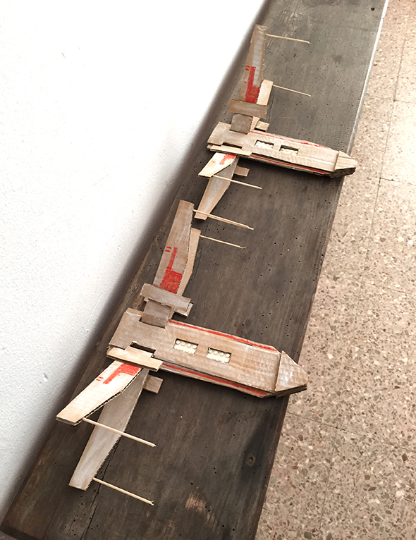 Cardboard X-Wing Fighters | El Hada De Papel