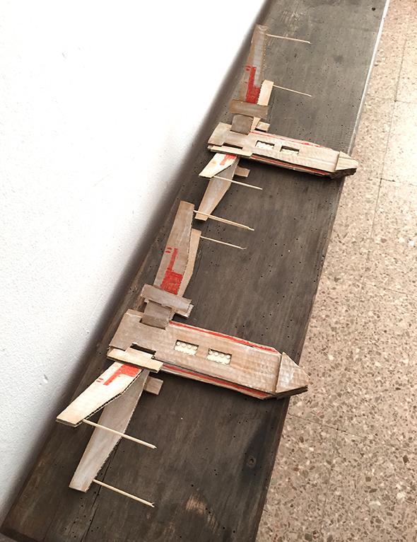 Cardboard X-Wing Fighters | El Hada De Papel
