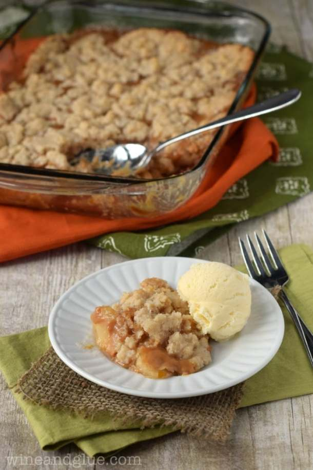 Carmel Apple Dump Cake | Wine and Glue