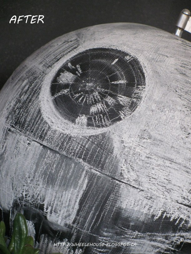 Chalkboard Death Star Globe | In My Wheele House