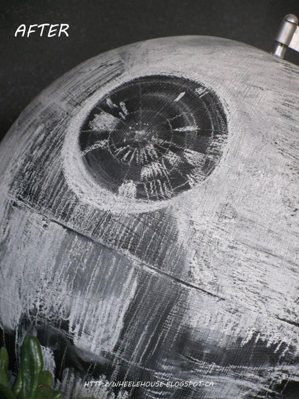 Chalkboard Death Star Globe | In My Wheele House