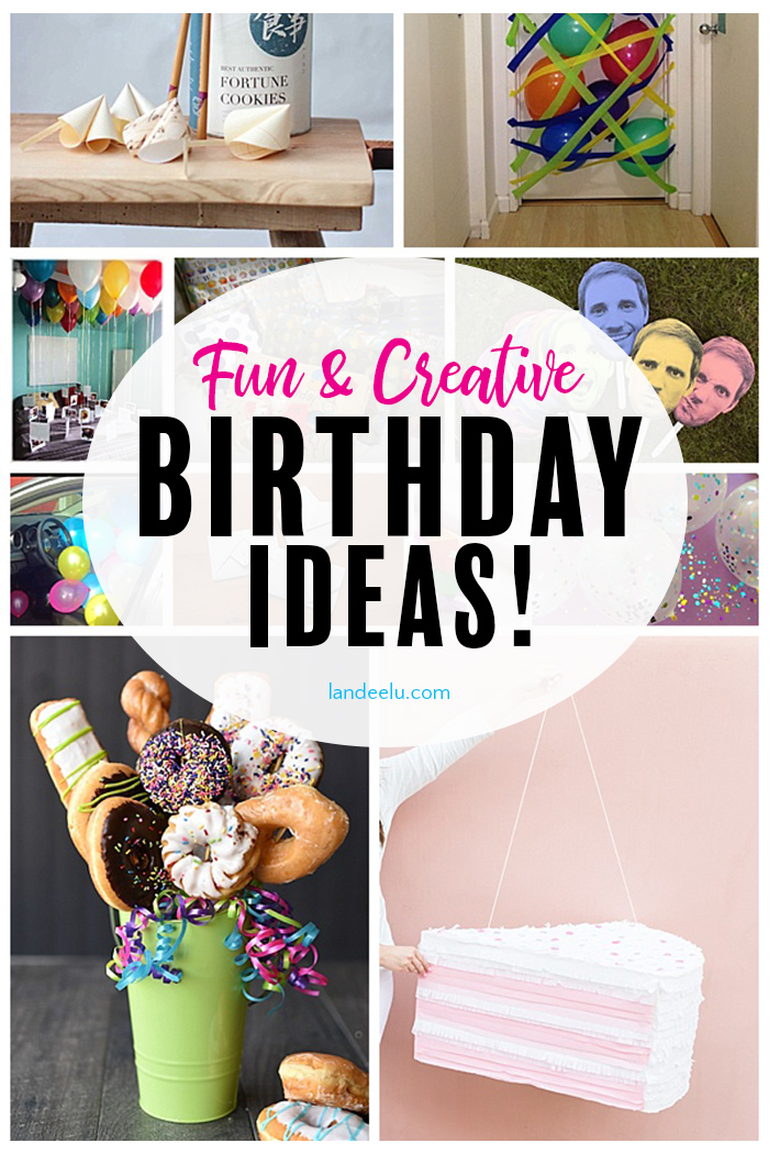 Make someone feel extra special with these fun and creative birthday ideas! Birthday parties, birthday decorations and more! #birthdayideas #birthdayparty #birthdaypartyideas #giftideas #birthdaysurprise