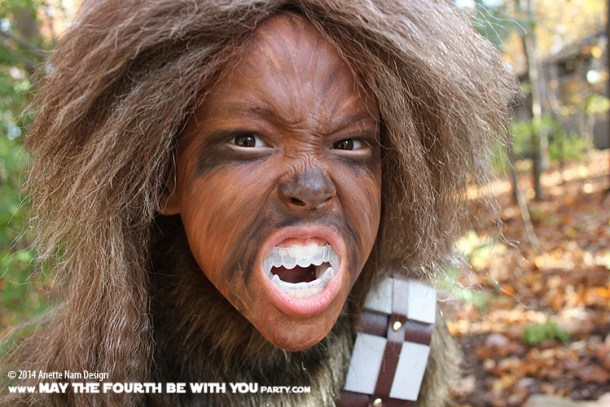 DIY Chewbacca Costume | May the Fourth be With You Party