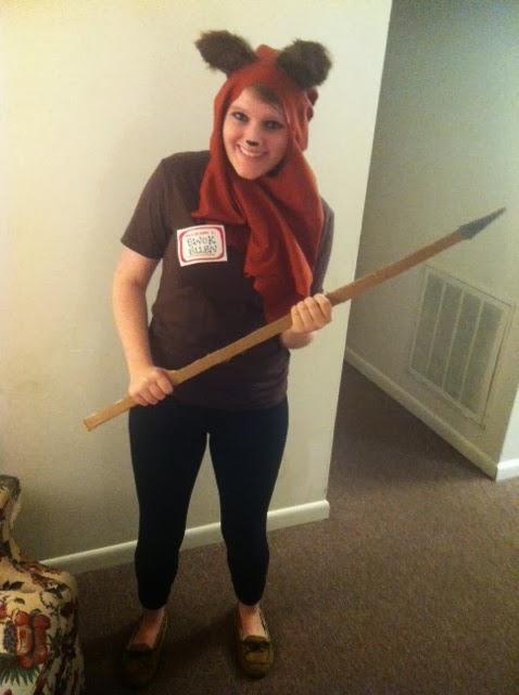 DIY Ewok Costume! | Lollen Marie