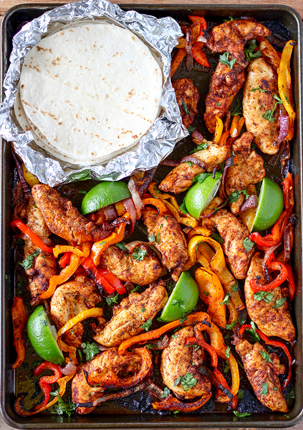 Sheet Pan Chicken Fajitas | Number-2-Pencil