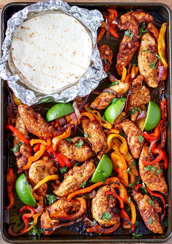 Sheet Pan Chicken Fajitas | Number-2-Pencil