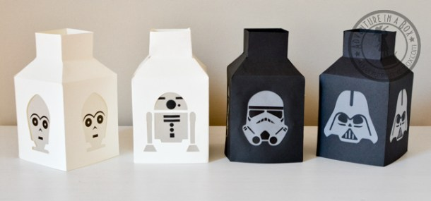 StarWars Paper Lanterns | Adventure-in-a-Box