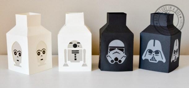 StarWars Paper Lanterns | Adventure-in-a-Box
