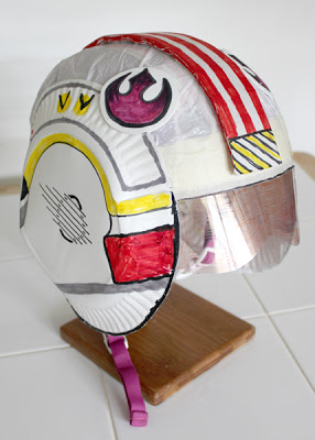 X-Wing Fighter Pilot Helmet | Filth Wizardry