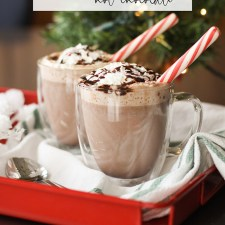 Amazing Peppermint Hot Chocolate