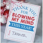 Teacher Appreciation Idea: Blow My Mind! | landeelu.com Cute way to give a gift card (because that's what teachers really want!) to the teacher you love and appreciate! #teacherappreciation #teachergift #teachergiftidea #thankyougift