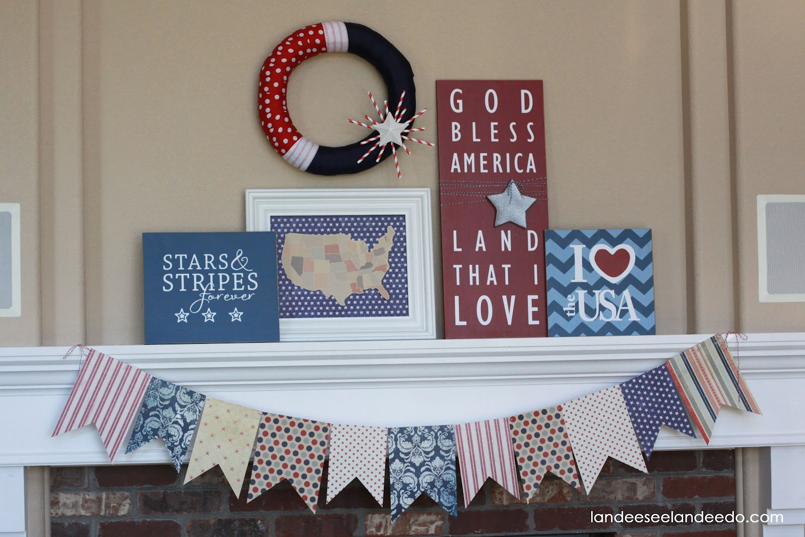 have you got your 4th of july decor up already am i a bit early too late i never know the timing on these things i guess it s never the wrong time