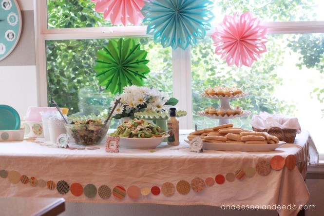 Bridal Shower Decoration Ideas Yellow Tissue Paper Pom