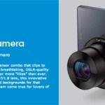 Appleのお株を奪ったソニーのレンズスタイルカメラ、DSC-QX10&100がめちゃくちゃ欲しい→買った