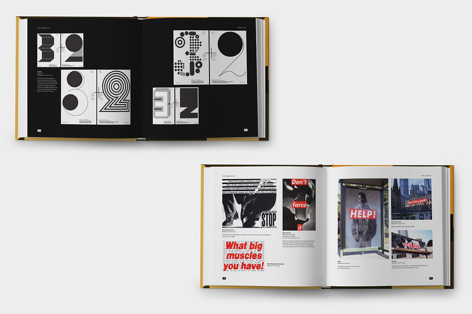 Stop Think Go Do Book Design