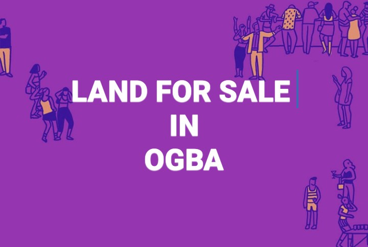 1400sqm Land For Sale Haruna Bus stop, Off College Road Ogba Ikeja Lagos Nigeria