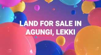 Mixed-use 1860 sqm Dry & Fenced Land on Agungi Road