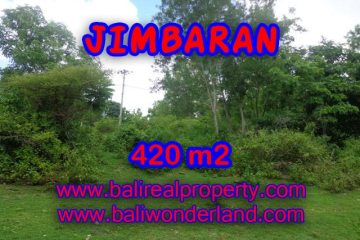 Land for sale in Bali, Exotic view in Jimbaran Ungasan – TJJI060