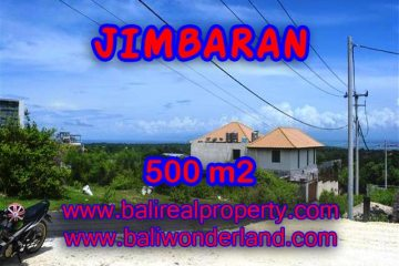 Land for sale in Bali, spectacular view in Jimbaran Bali – TJJI066
