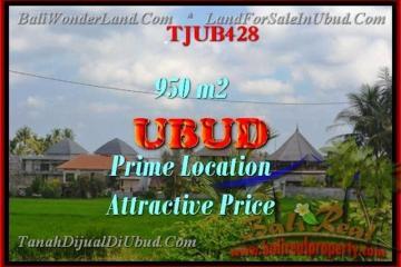 Affordable PROPERTY LAND SALE IN Sentral Ubud BALI TJUB428