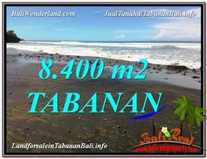 FOR SALE Affordable PROPERTY 8,400 m2 LAND IN TABANAN BALI TJTB326