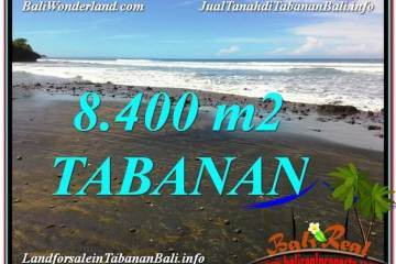 FOR SALE Affordable PROPERTY 8,400 m2 LAND IN TABANAN BALI TJTB326