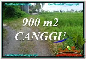 Beautiful PROPERTY CANGGU BALI 900 m2 LAND FOR SALE TJCG215