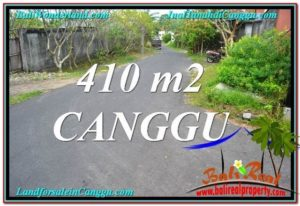 Exotic CANGGU 410 m2 LAND FOR SALE TJCG216