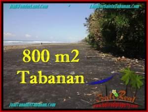 Exotic PROPERTY 800 m2 LAND IN Tabanan Selemadeg FOR SALE TJTB260