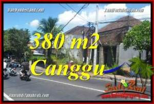 Magnificent PROPERTY 380 m2 LAND IN CANGGU BALI FOR SALE TJCG226