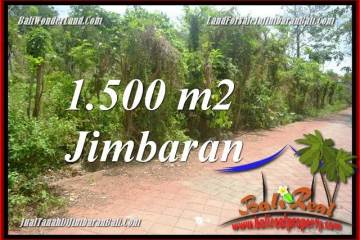 FOR SALE Affordable 1,500 m2 LAND IN JIMBARAN ULUWATU BALI TJJI128
